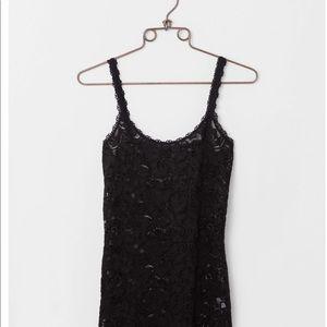 NWT BKE Boutique Black Lace Tank Top Size LARGE